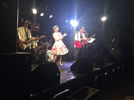 同窓会  福岡市内のライブ会場にて