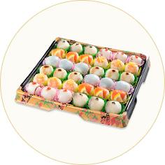メニュー紹介② 手毬寿司