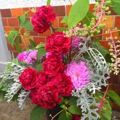 今日のケータリングのお花です!