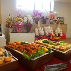 福岡市博多区の会議室で90名のケータリングを行いました。